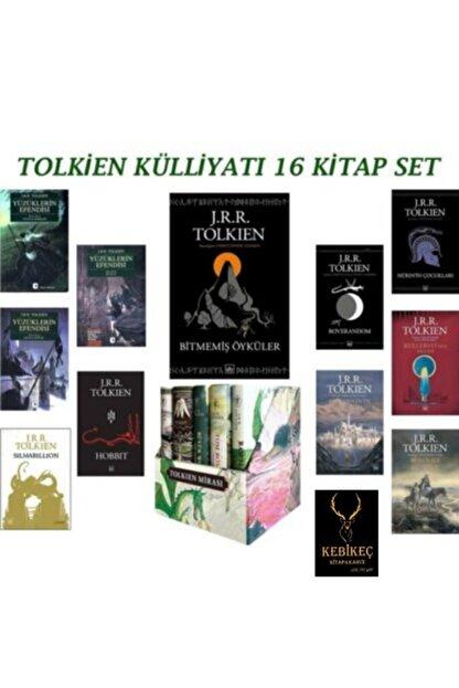 İthaki Yayınları Tolkien Külliyat 16 Kitap Set Yüzüklerin Efendisi Hobbit Bitmemiş Öyküler Silmarillion Tolkien Miras