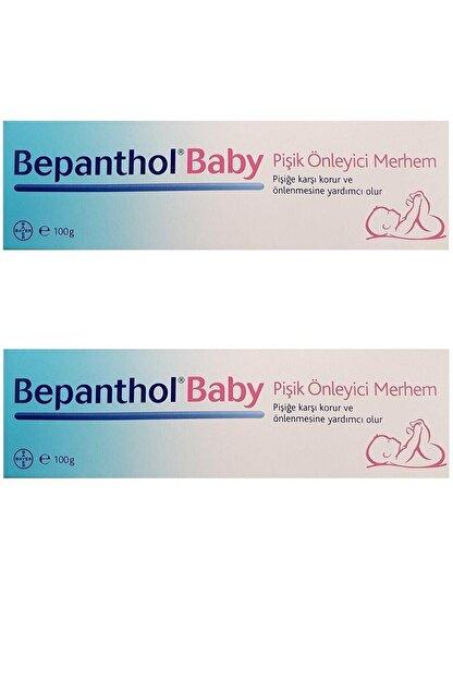 Bayer Bepanthol Baby Pişik Kremi 100 gr Pişik Önleyici 2 Adet