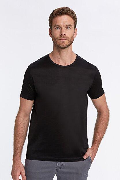 Hemington Siyah Bisiklet Yaka Basic T-shirt