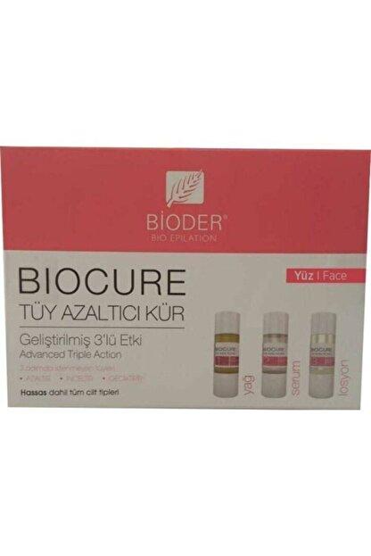 Bioder Biocure Tüy Azaltıcı Kür 3 X 5 ml - Yüz Bölgesi