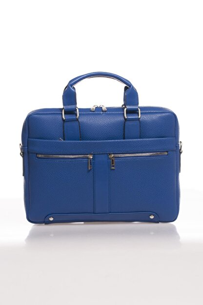 Sergio Giorgianni Luxury Mpist9141 Belinda Mavi Unısex Evrak Çantası