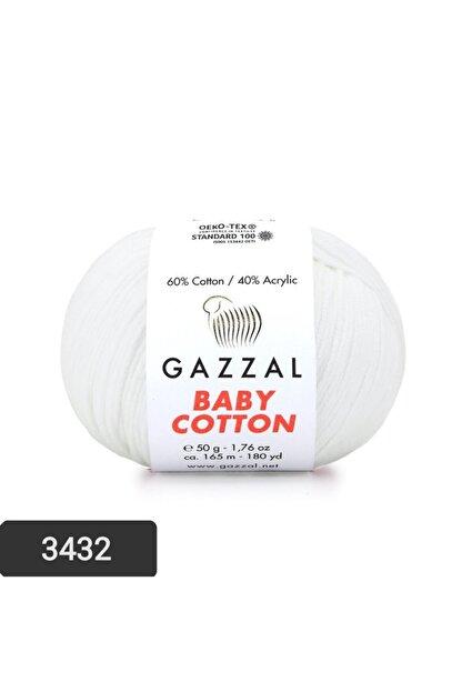 Gazzal Baby Cotton Amigurumi Ipi El Örgü Ipi Punch Ipi 50 gr 3432