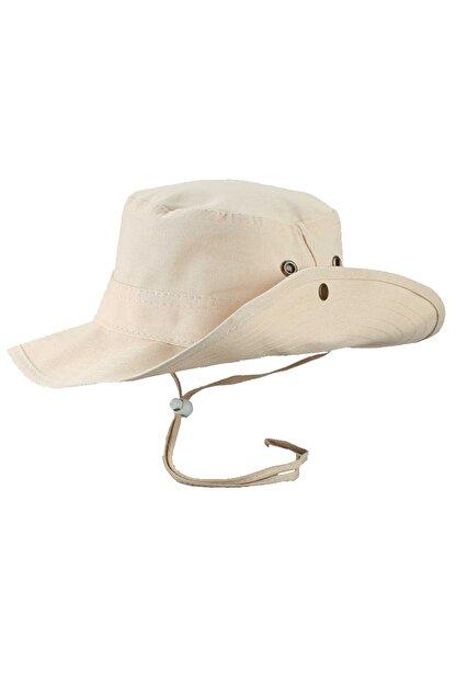 SOLİSTO Safari Şapka Krem
