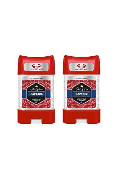 Old Spice Captain Antiperspirant Gel 70 ml X 2 Adet