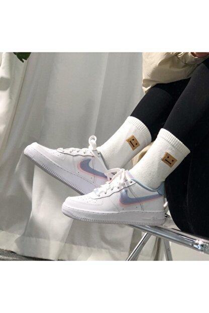 Nike Kadın  Air Force 1 Lv8 ( Gs ) Sneaker Ayakkabı