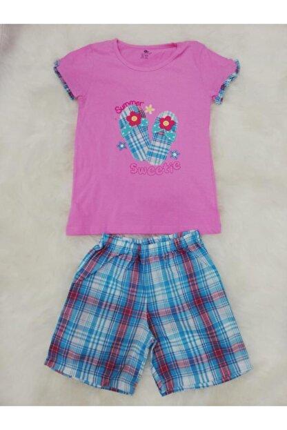 Wonder Kids Kız Çocuk Yazlık Şortlu Pijama Takımı 130610