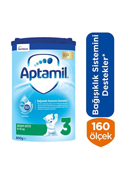 Aptamil Devam Sütü Akıllı Kutu 3 Numara 800 gr