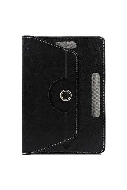 """Mobilite Hometech Alfa 7lm 7"""" Uyumlu 360°dönebilen Kapaklı Standlı Universal Tablet Kılıfı"""