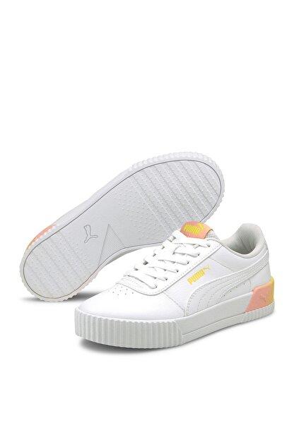 Puma Carina Summer Kadın Günlük Spor Ayakkabı - Beyaz