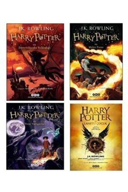 Yapı Kredi Yayınları Harry Potter Ve Zümrüdüanka Yoldaşlığı - Melez Prens - Ölüm Yadigârları - Lanetli Çocuk Set 5678