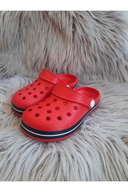 Akınalbella Unisex Çocuk Kırmızı  Crocs Terlik