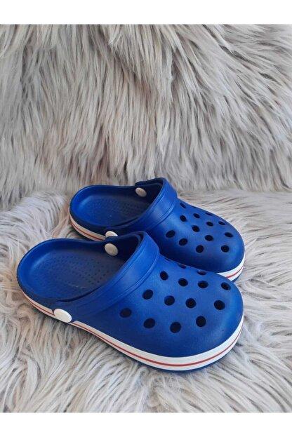 Akınalbella Çocuk Mavi Renk Crocs Terlik