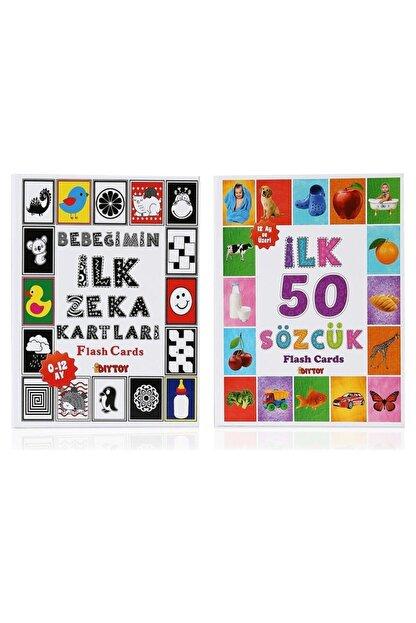Diytoy Flash Cards Ilk 50 Sözcük Bebeğimin Ilk Zeka Kartları