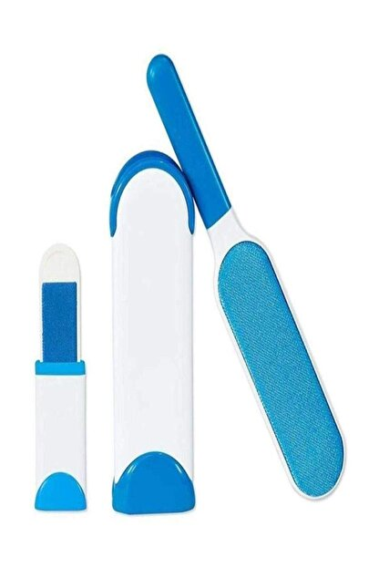 Welfare Tüy Toz Temizleyici Fırça Seti 2'li Mavi