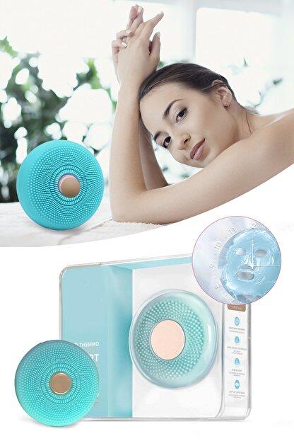 Xolo Smart Mask Ultrasonik Maske Uygulama Cihazı Işık Terapi Titreşimli Mavi Peeling Masaj Cihazı