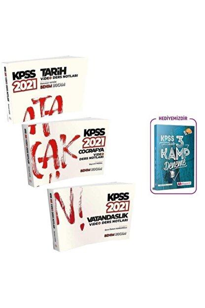 Benim Hocam Yayınları 2021 Kpss Tarih Coğrafya Vatandaşlık Video Ders Notları Set