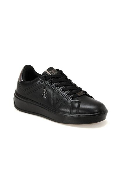 US Polo Assn Kadın Siyah Ayakkabı