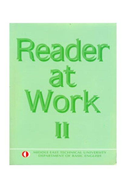 ODTÜ Geliştirme Vakfı Yayıncılık Reader At Work 2
