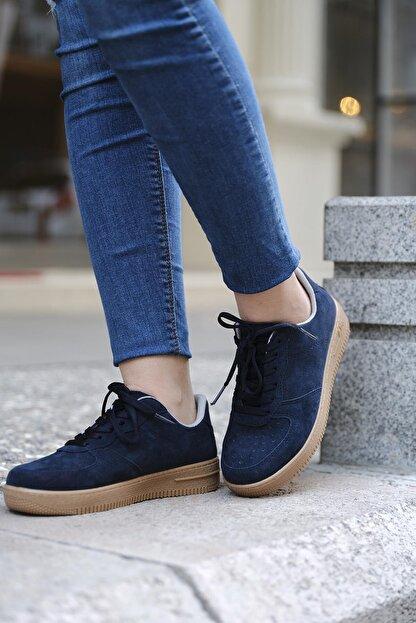 DARKLOW Unisex Sneaker Günlük Bağcıklı Spor Ayakkabı