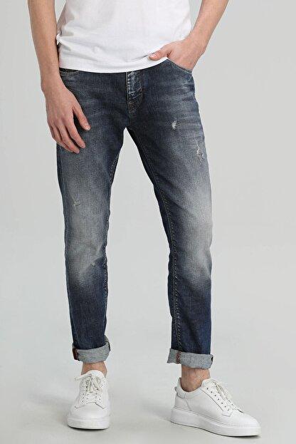Lufian Euler Fashion Jean Pantolon Slim Fit Mavi