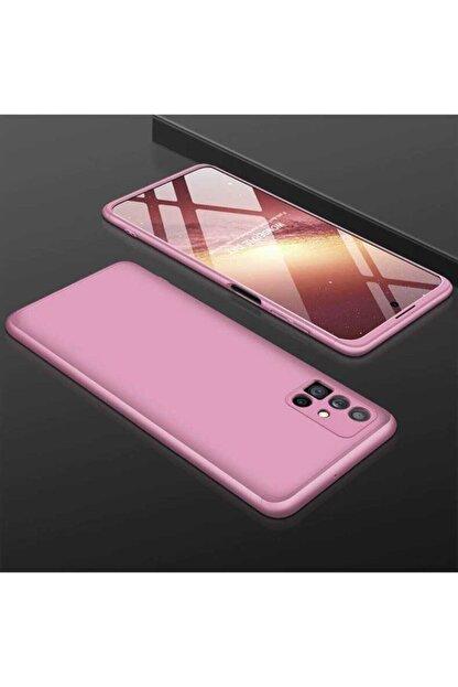 ankacep Samsung Galaxy M51 Kılıf 360 Derece Tam Koruma 3 Parça Zore Ays Kapak
