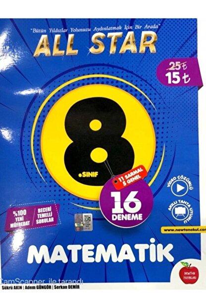 Newton Yayınları 8. Sınıf Lgs Matematik All Star 16 Deneme Yayınları