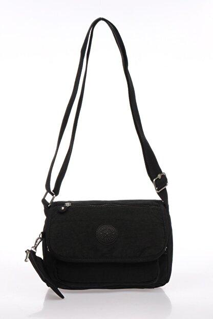 Smart Bags Smb1148-0001 Siyah Kadın Çapraz Çanta