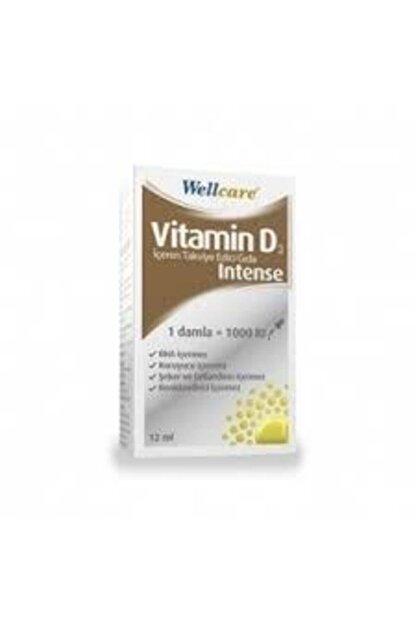 Wellcare Vitamin D3 1000 Iu Intense Damla 12 ml