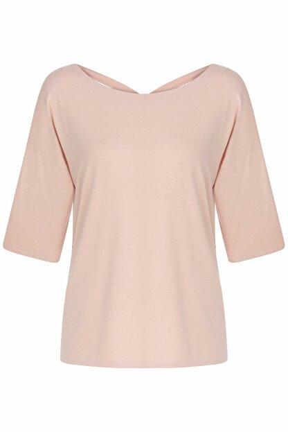 İpekyol Kadın Pembe Basic Bluz