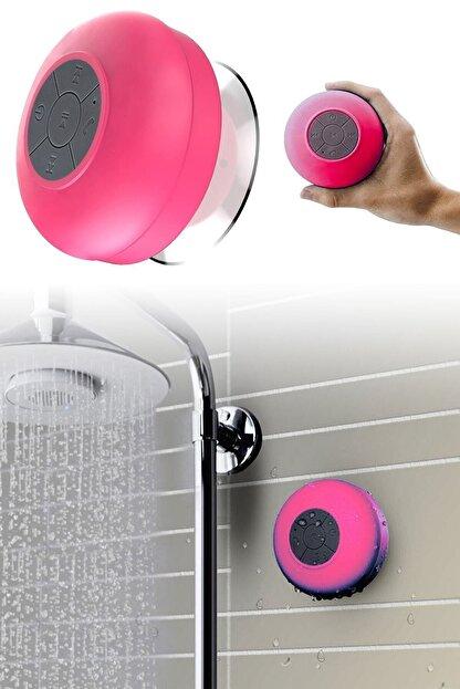 Urban Sound Bluetooth Hoparlör Ses Bombası Eller Serbest Konuşma Duş Tipi, Suya Dayanıklı Pembe D-195
