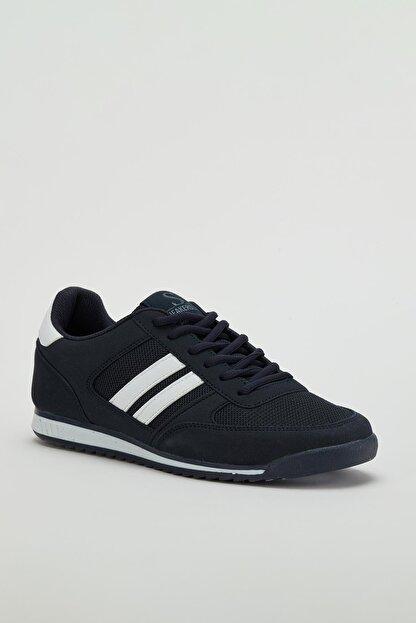 Muggo Erkek Lacivert Sneaker Ayakkabı Mgpalermo02