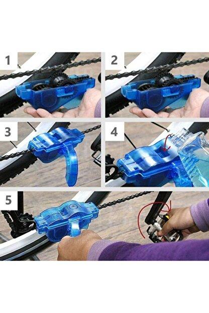 CHEF ACADEMİA Bisiklet Zincir Dişlisi Koruyucu Pas Sökücü Temizleme Fırçası Aparatı Bakım Seti 4 Parça