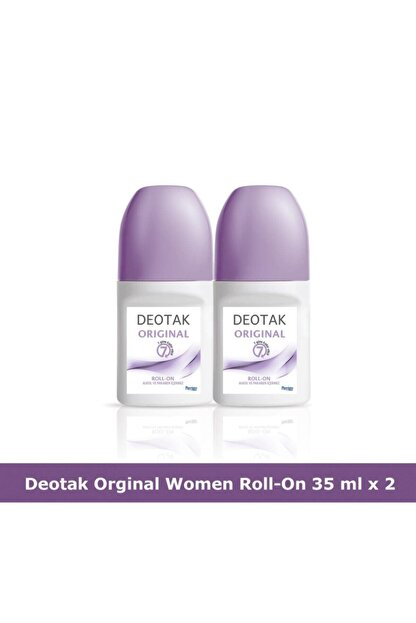Deotak Orıgınal Roll-On Deodorant 35 ml x 2