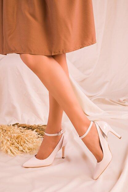 Soho Exclusive Bej Mat Rugan Kadın Klasik Topuklu Ayakkabı 15251