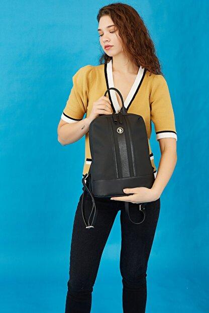 US Polo Assn 3040 Siyah Kadın Kol Çantası 100576319