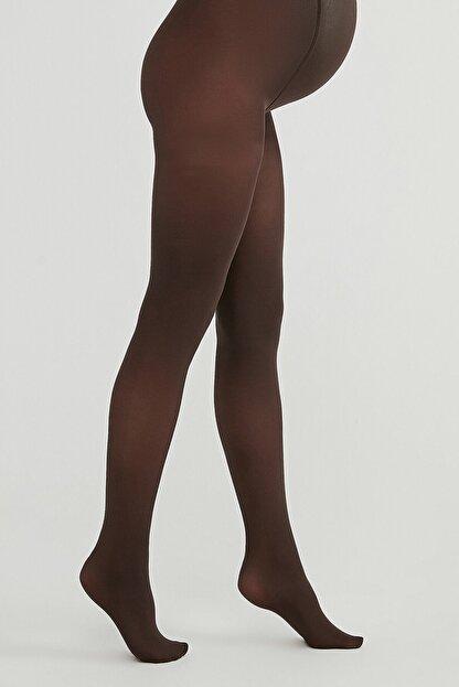 Penti Kestane Rengi Hamile Külotlu Çorabı 40 Denye