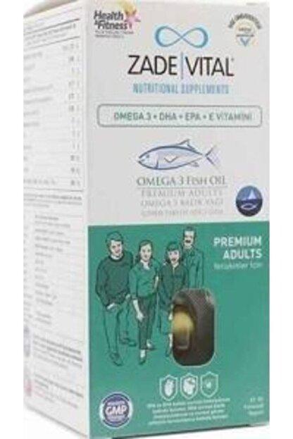 Zade Vital Premium Omega 3 Balık Yağı 50 Kapsül