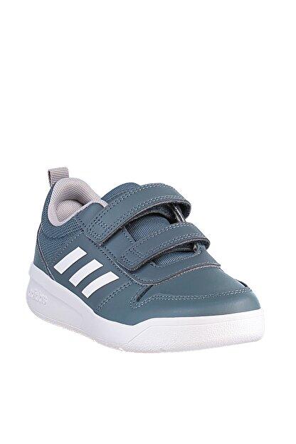 adidas TENSAUR C Gri Erkek Çocuk Koşu Ayakkabısı 100663758