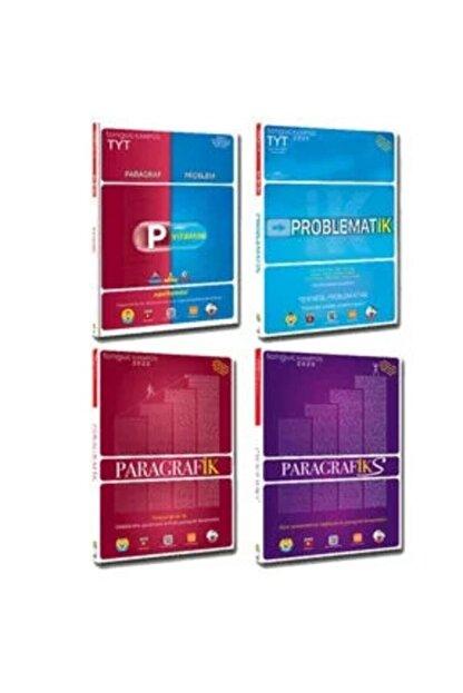 Tonguç Akademi Kampüs Tyt P Vitamini Problematik Paragrafiks 4 lü Set 2020 Tyt Set 1