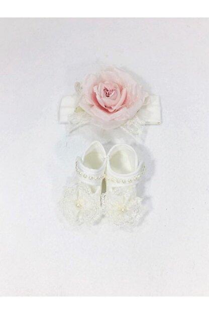 CILGIN BEBEK Yeni Doğan Ayakkabı Bandana Set