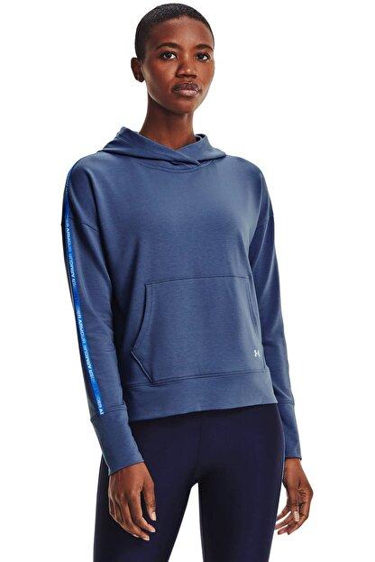 Under Armour Kadın Spor Sweatshirt - UA Rival Terry Taped Hoodie - 1360904-470