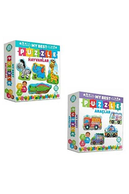 Circle Toys My Best Puzzle Hayvanlar+araçlar Ikili Set