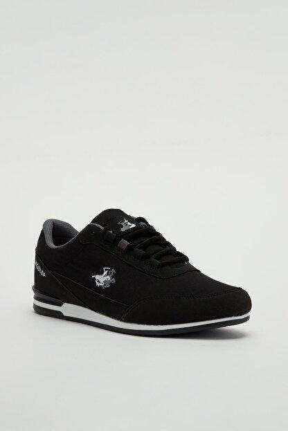 Muggo Erkek Siyah Bağcıklı Sneaker Mgbarney01