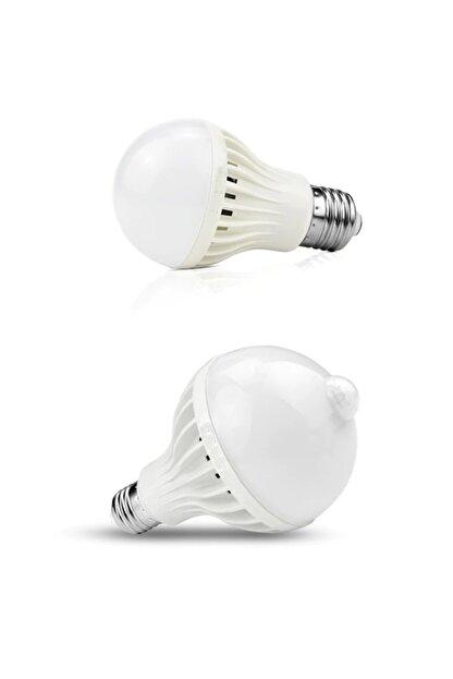 ALKILIÇ Led Hareket Sensörlü 9w Beyaz Işık Ampul Alk-9wsensörlüampul
