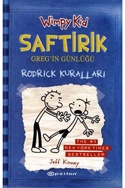 Epsilon Yayınları Rodrick Kuralları Saftirik Gregin Günlüğü 2 Ciltli