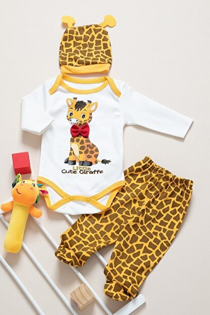 bebboo Sarı Bebek Takım 0413