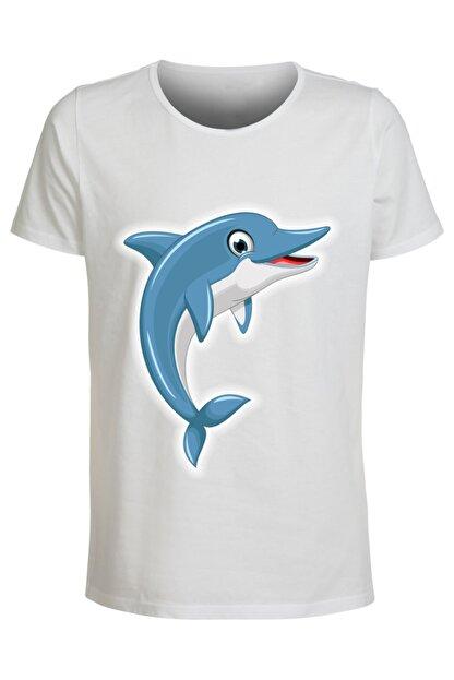 ABC Çocuk Çizgi Film Kahramanları Baskılı T-shirt