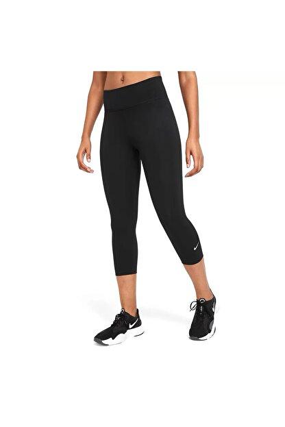Nike Kadın Siyah One Tayt Dd0245-010