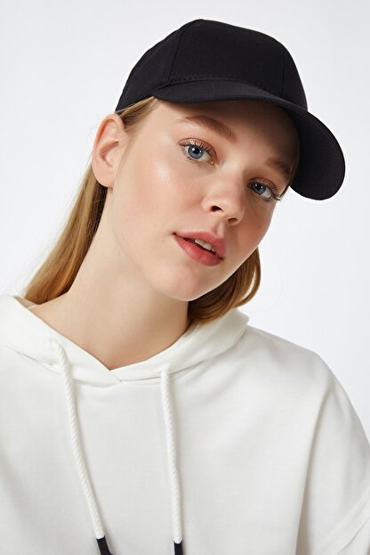 Happiness İst. Kadın Siyah Unisex Baseball Cap Şapka PD00017