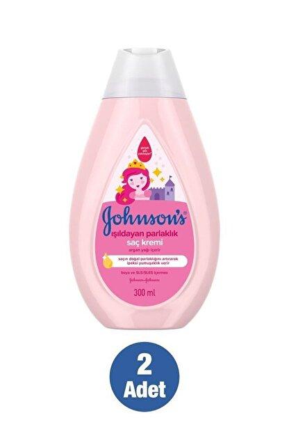 Johnson's Baby Işıldayan Parlaklık Serisi Saç Kremi 300 Ml X2